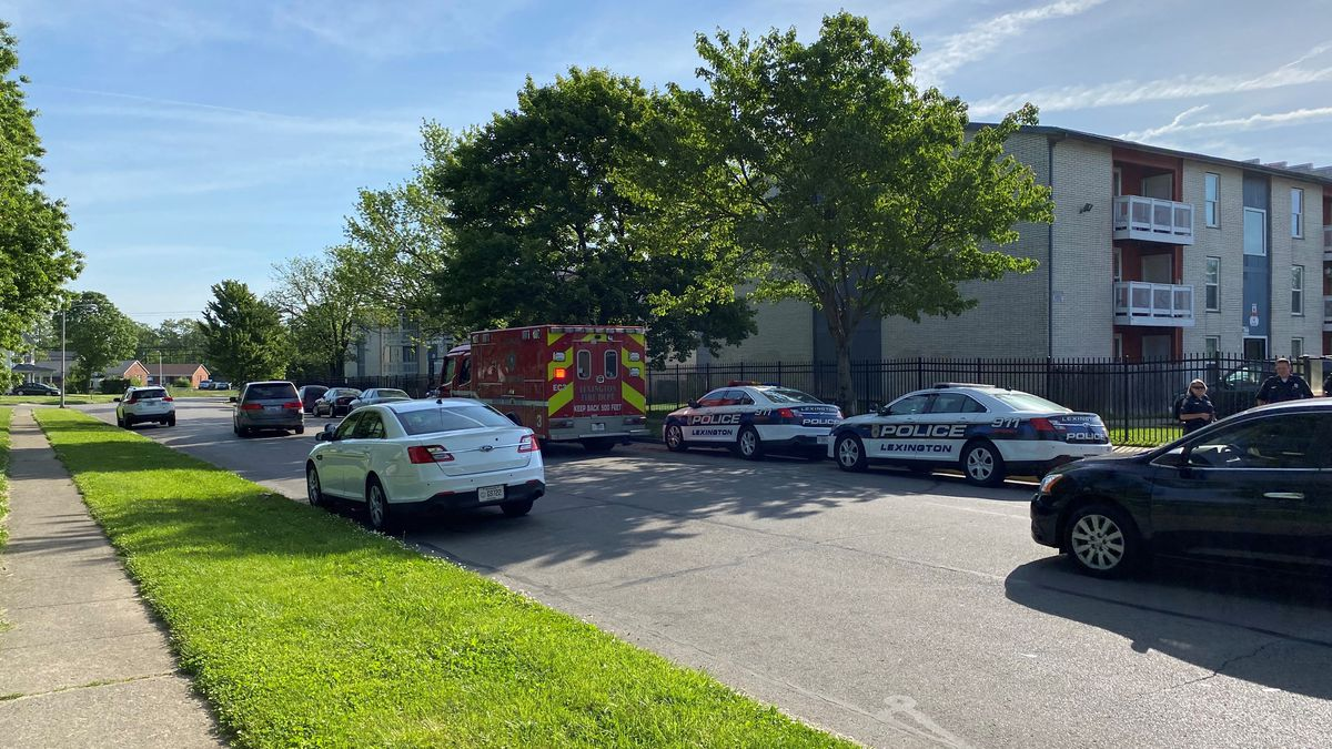 A man is in jail after police say he fought with officers in an incident that started with a water leak. Around 9 Friday morning, residents at Fox Run Apartments on McCullough Drive say water was coming into their apartments from another apartment. (WDKY)