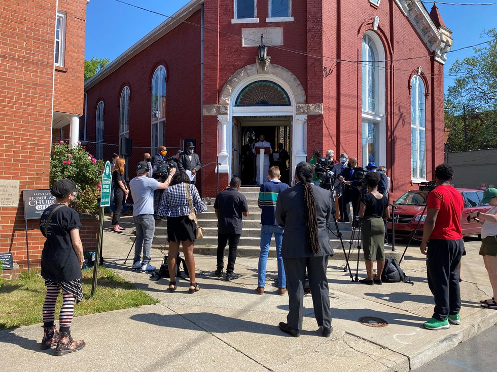 In April, Black faith leaders called on the City of Lexington to permanently ban the use of no-knock warrants. They are disappointed that still has not happened.
