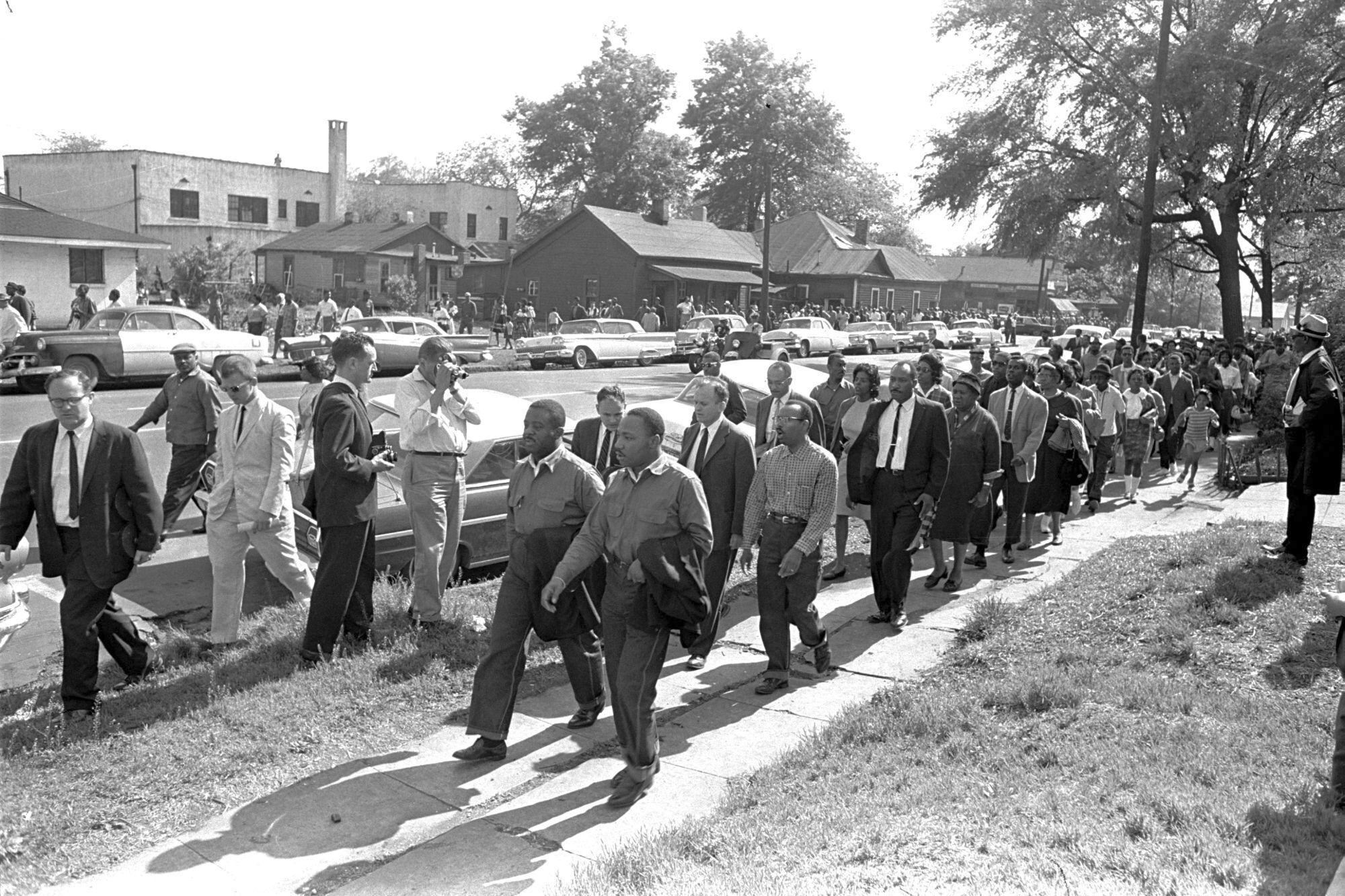 Jonathan McPherson, Martin Luther King Jr., Ralph Abernathy, Birmingham march