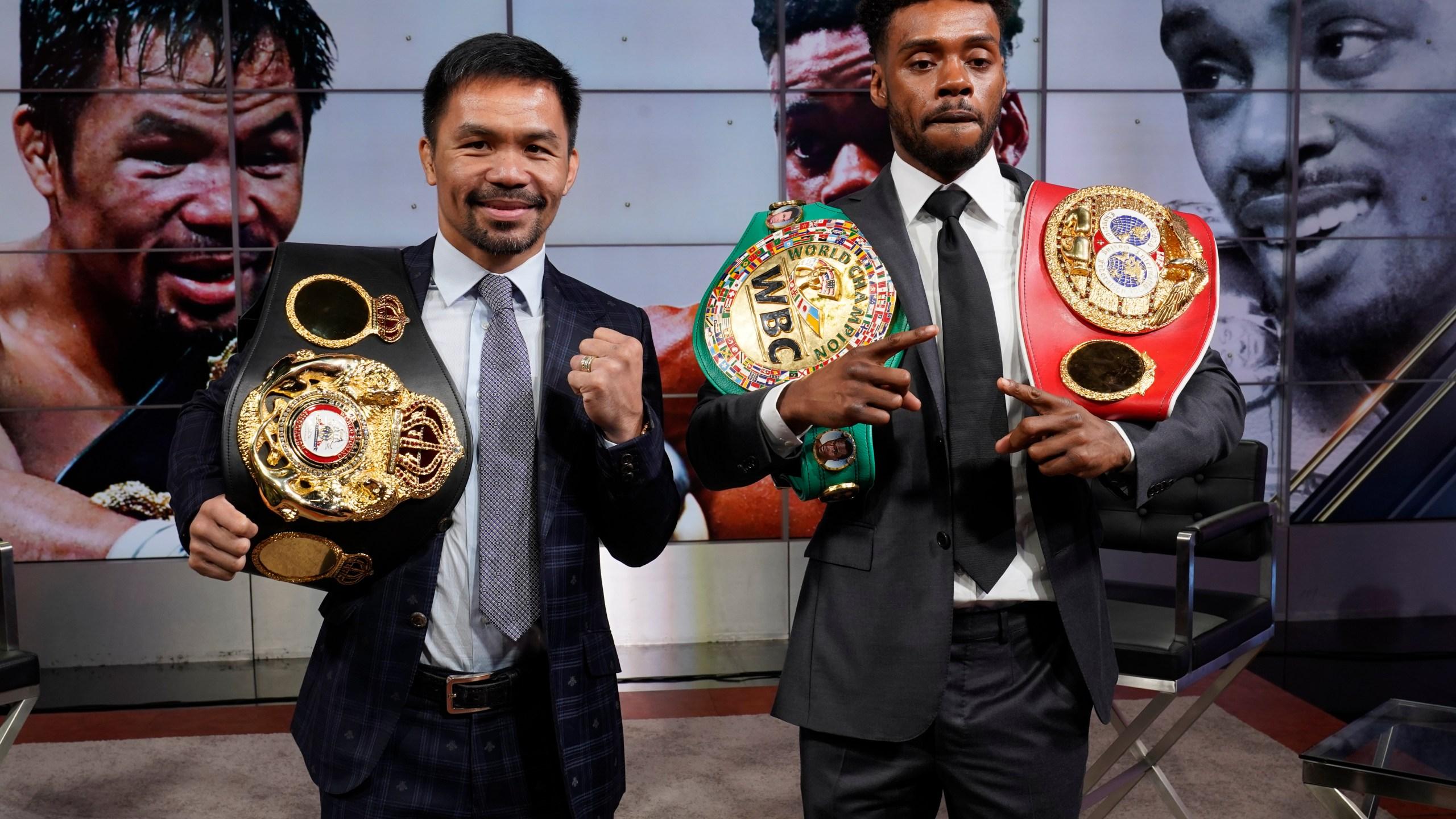 Manny Pacquiao, Errol Spence Jr.