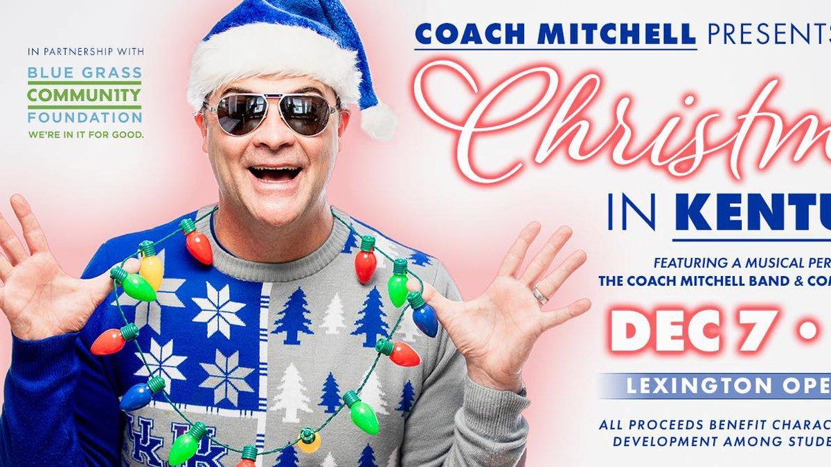 Former UK coach Matthew Mitchell will host a benefit Christmas concert in early December.(Matthew Mitchell)